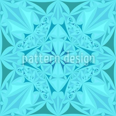 Kristall Schönheit Rapportiertes Design