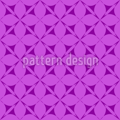 Freesia Seamless Vector Pattern