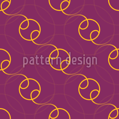 Spheric Circles Vector Ornament