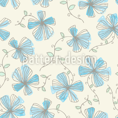Enchanting Violets Pattern Design