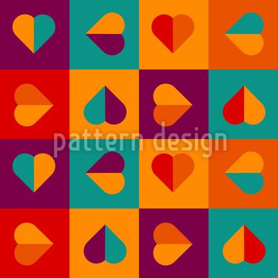 Ich Will Herzen Vektor Design