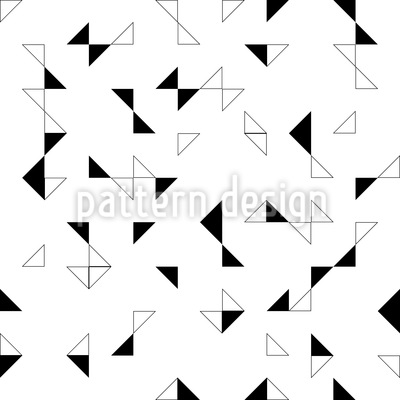 Menage A Trois Seamless Vector Pattern Design