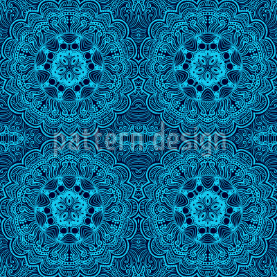 Oriental Embroidery Seamless Pattern