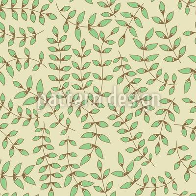 Beauty Leaf Seamless Pattern