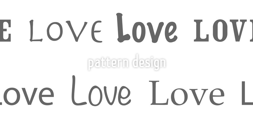 Love Vector Pattern
