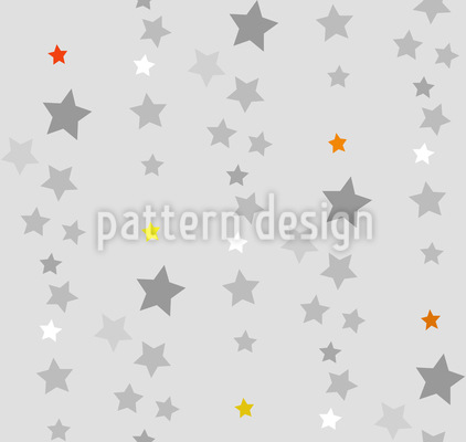 I Will Catch A Star Seamless Vector Pattern Design