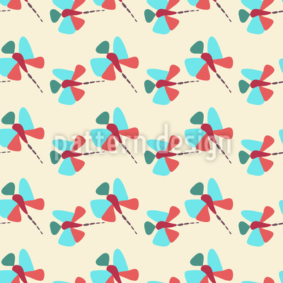 Dragonfly Vector Pattern