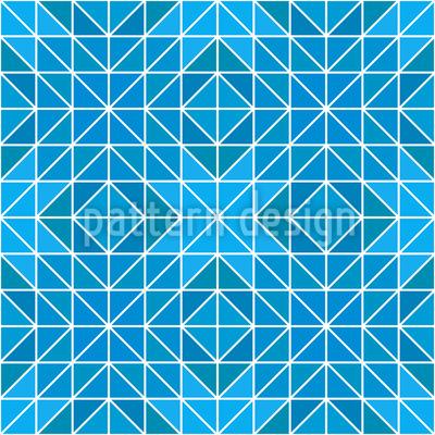 Gefrorene Geometry Rapportmuster