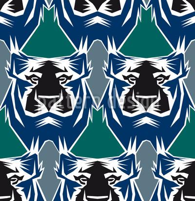 Der Tiger Ist Der König Des Dschungels Rapport