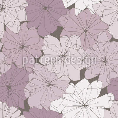 Petal Paris Vector Pattern