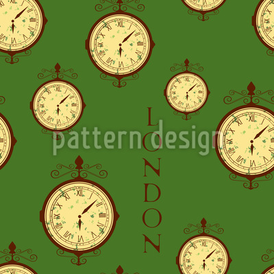 London Times Repeating Pattern