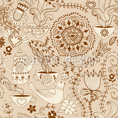 Russian Chocolate Pattern Design