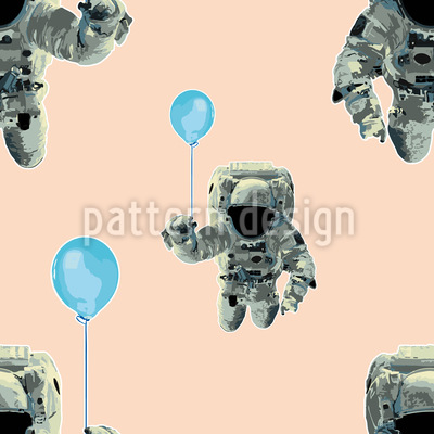 The Party Odyssey Of The Astronauts Vector Ornament