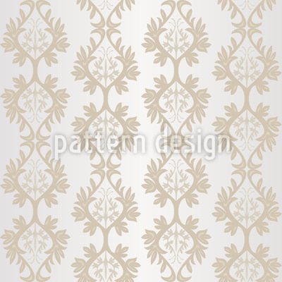 Shimmering Baroque Vector Pattern