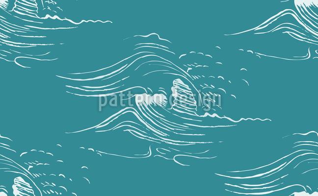 Die Flutwellen Muster Design