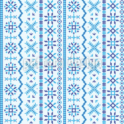 Northland Embroidery Vector Ornament