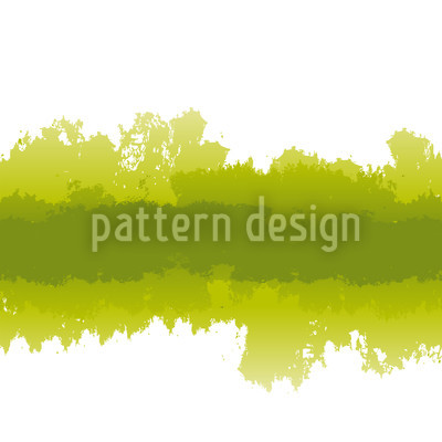 Batik In Green Vector Ornament