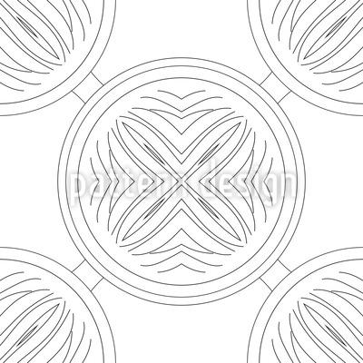 Aufbruch Der Kreise Vektor Muster