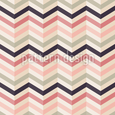 Chevron Blush Vector Ornament