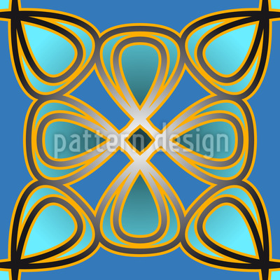 Palast Floral Muster Design