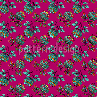 Persian Floridity Pattern Design
