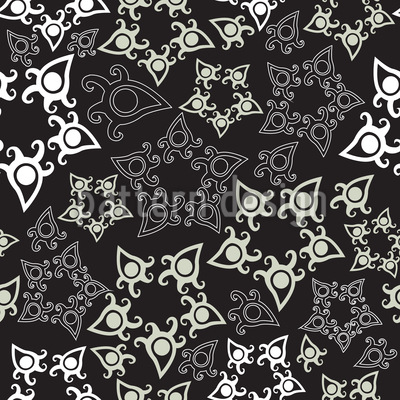 I See Christmas Stars Design Pattern