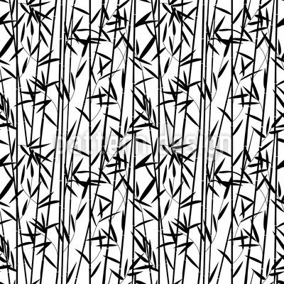 Bambus Streifen  Vektor Ornament