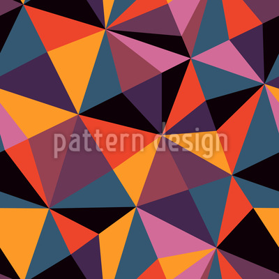 Geometry Of The Modern Age Vector Pattern