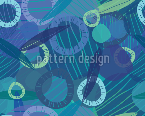 Rhapsody Of The Rings Seamless Vector Pattern