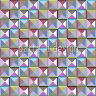 Mosaik Der Dritten Dimension Musterdesign