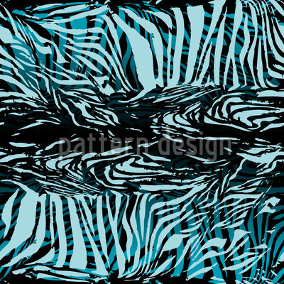 Zebrafur Blue Repeat