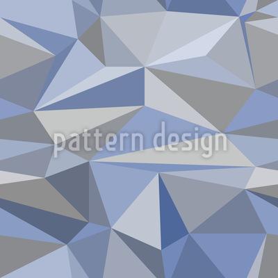 Iceberg Geometry Seamless Vector Pattern Design