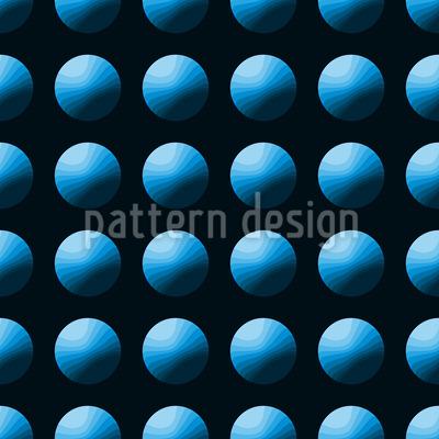 Press The Blue Button Vector Ornament