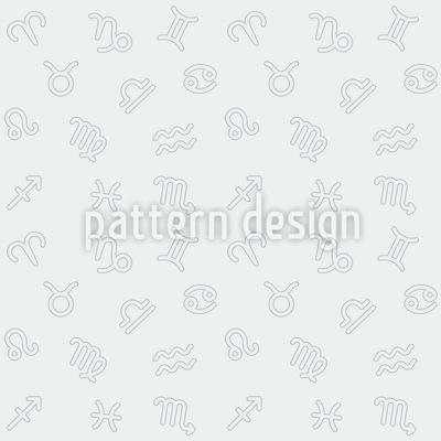 Zodiac monochrome Design Pattern