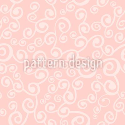 Ilvys Sweet Curls Seamless Vector Pattern