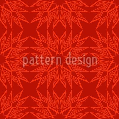 Paperstar In Flames Pattern Design