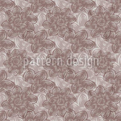 Seiden Blumen Muster Design