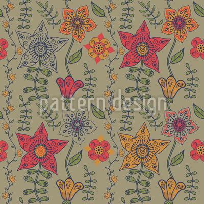Flowers From Bratislava Pattern Design