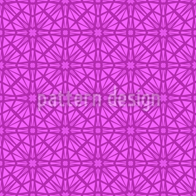Octagon Lady Seamless Vector Pattern