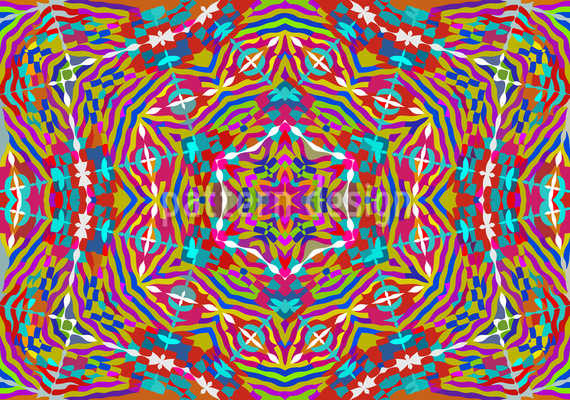Kaleidoscope Expression Vector Pattern