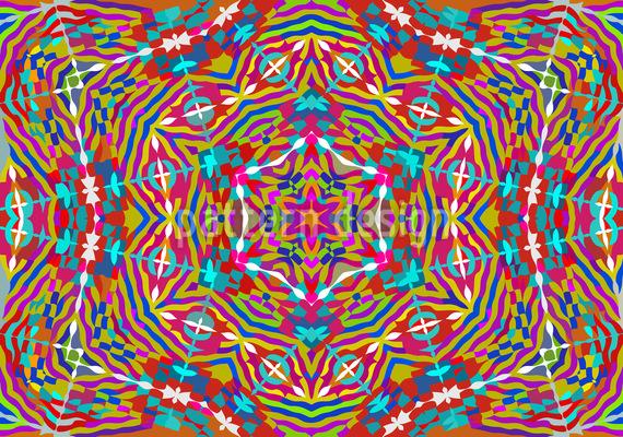 Kaleidoskop Expression Vektor Muster