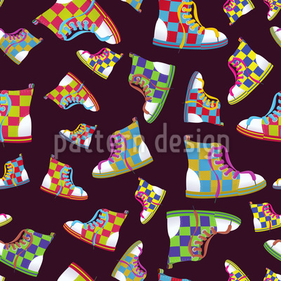 Sneackers Repeat Pattern