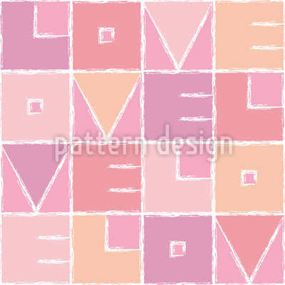 Velo Love Nahtloses Muster
