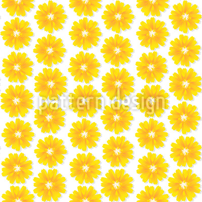 Flowers Of The Sun Seamless Pattern
