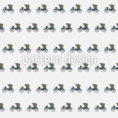 Luxury Carriages Repeat Pattern