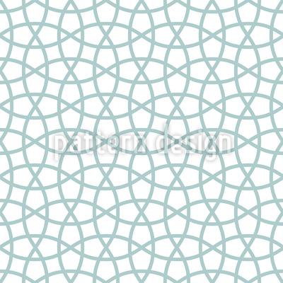 Fishing Nets Seamless Vector Pattern Design
