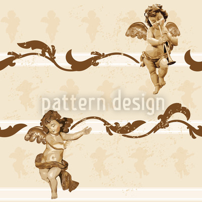 Angelis Seamless Vector Pattern Design
