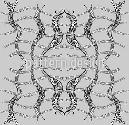 Unsterbliche Modernisme Muster Design