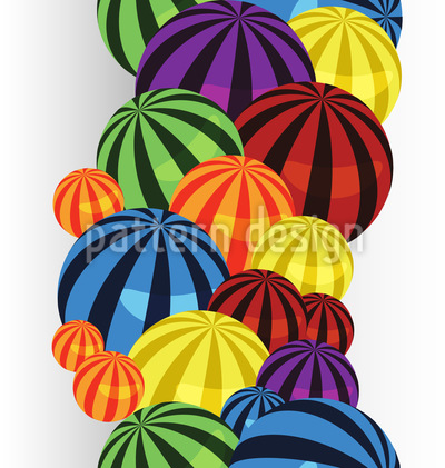 Ball Series Vector Pattern