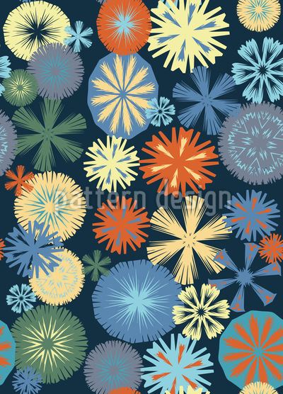 Flake Nostalgia Pattern Design